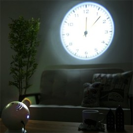 DETAIL - projection clock