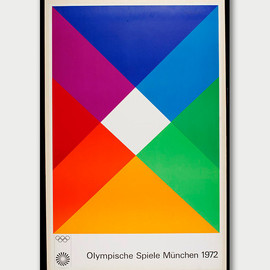 Max Bill - The Poster of the 1972 Olympics