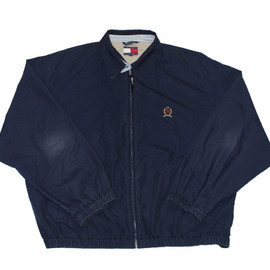 TOMMY HILFIGER - Vintage Navy Blue Tommy Hilfiger Jacket Mens Size XL