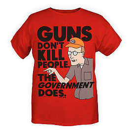 King Of The Hill - Guns Don't Kill T-Shirt