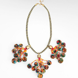 TORY BURCH - POM POM NECKLACE
