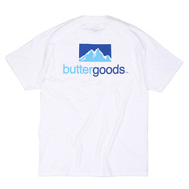 BUTTER GOODS - Search Tee, White