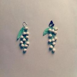 peikko - A lily of the valley pierce / earring