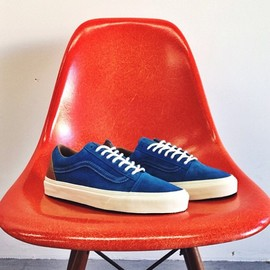 "VANS - Old Skool Reissue ""Two-Tone"" in blue"