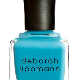 Deborah Lippmann - ON THE BEACH rich riviera blue (creme)