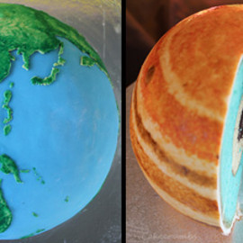 l - Earth and Jupiter Cakes