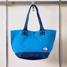 THE NORTH FACE PURPLE LABEL - Tote Bag M #TURQUOISE×DARK NAVY