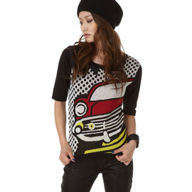moussy - 【moussy】◇【□】CAR KNIT TSK