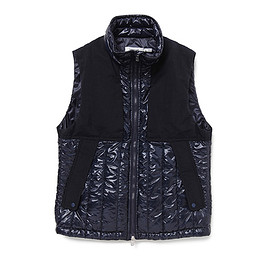 nonnative - ALPINIST PUFF VEST POLY DICROS DNA LIGHT