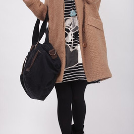 wool coat - Hoodie camel wool Winter Coat