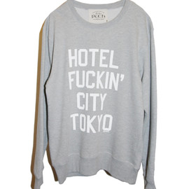 PUCH, 鎮座DOOPENESS - 【Hotel F***n' City Tokyo】スウェット