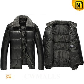 cwmalls - Rome Black Down Filling Jacket CW846061