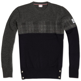 MONCLER GAMME BLEU - Color Block Sweater