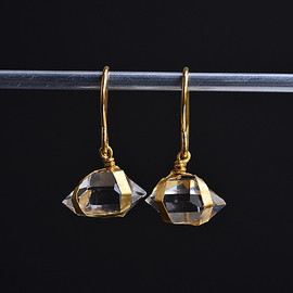 SOURCE - Herkimer Diamond Earrings