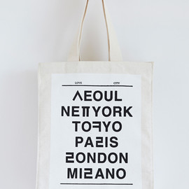 NOHANT - LOVE CITY LONDON ECO BAG