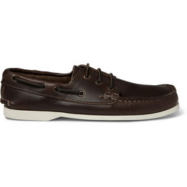 Quoddy - Dark Brown Leather Boat Shoes