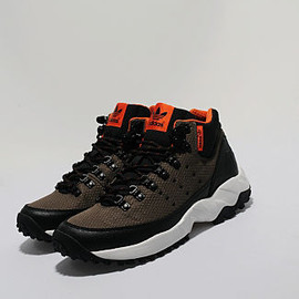 adidas originals - Torsion Trail Mid - Khaki Green/Black/Orange