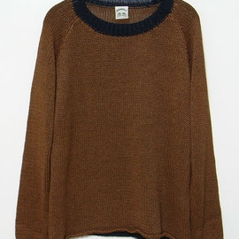 SUNSEA - Paper linen sweater