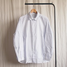 YAECA - Comfort Shirt Standard Long #ice blue
