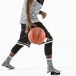 The Athletic - WillBryant Basketball Sock ( Black )