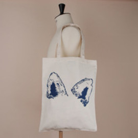MAISON KITSUNÉ - TOTE BAG FOX EARS
