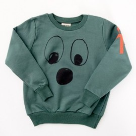 BOBO CHOSES - Sweat Shirt Round Neck Eyes