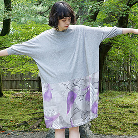 ohta - easy dress 18ss