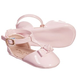 Mayoral - Pink Patent Pre-Walker Shoes