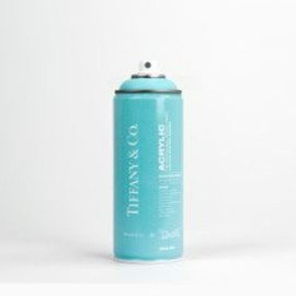 tiffany&co - BRANDALISM Limited Edition Spray Paint Cans — The Dieline