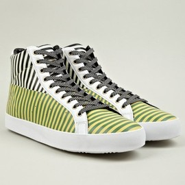 ADIDAS X OPENING CEREMONY - Men's Rod Laver Vintage Hi Sneakers