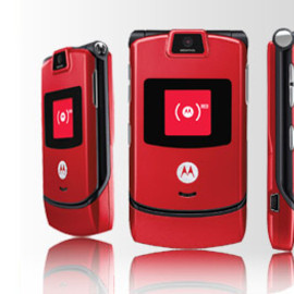 Motorola - razr red