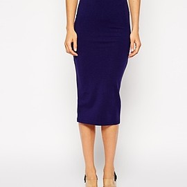 asos - ASOS Midi Pencil Skirt In Jersey