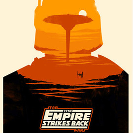 Olly Moss - STAR WARS: The Empire Strikes Back