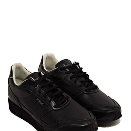 LUNGE - UNISEX ADAGIO CLASSIC WALK SNEAKERS FROM SS15 IN BLACK