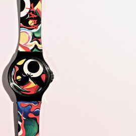 "COMME des GARÇONS - Holiday explosion by TARO OKAMOTO "" watch """