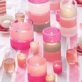 The Pink Candles.