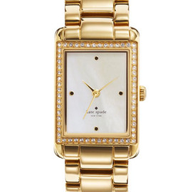 kate spade NEW YORK - 'waldorf' crystal bracelet watch