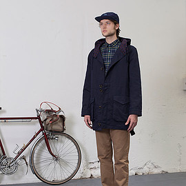 Monsieur Lacenaire - Commuters Parka - Navy
