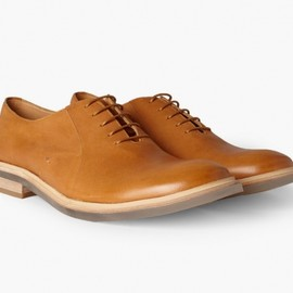 Maison Martin Margiela - Clear-Sole Leather Oxford Shoe