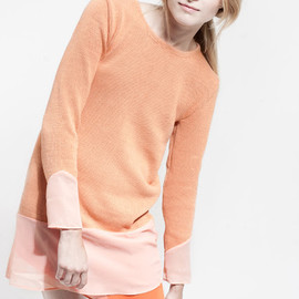 Lagom-swedish brand - peach dress