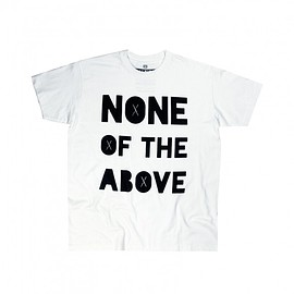 Tee-shirt None of the Above