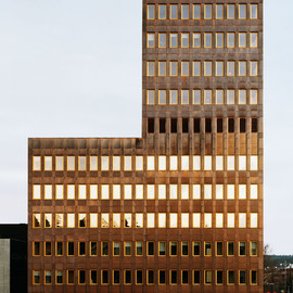 General Architecture, Sweden - Copper-Clad Office Building in Skelleftea, Sweden