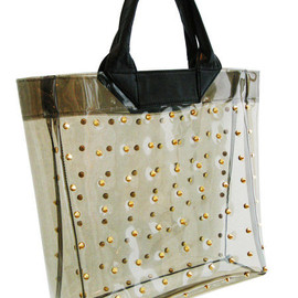3.1 Phillip Lim - Studded clear tote