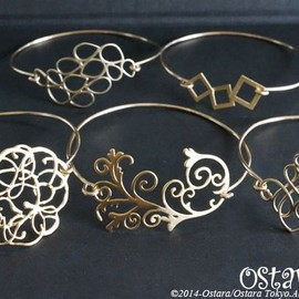14kgf Hoop Earrings/Vintage glasses