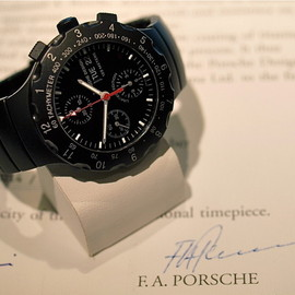 PORSCHE DESIGN - Titan Chronograph by ETERNA, Special Black Edition