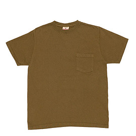 Goodwear - S/S Crew Neck Pocket Tee Custom-Coyote