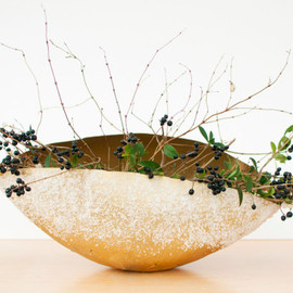 Brittany Watson Jepsen - gold frosted bowls