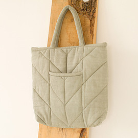 Maryam Nassir Zadeh - REVERSIBLE CHEVRON TOTE BAG