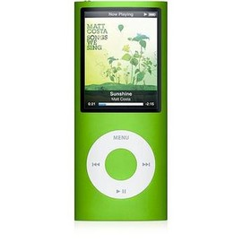 Apple - iPod nano 4th Gen (Green)