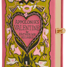 Olympia Le-Tan - ppolonia's Valentine embroidered clutch